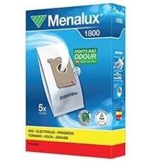 Menalux 1800 Duraflo Dust Bags - Genuine 5 Bags + 1 Filter