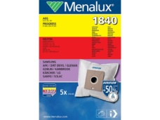 Menalux 1840 Duraflo Dust Bags - Genuine 5 Bags + 1 Filter