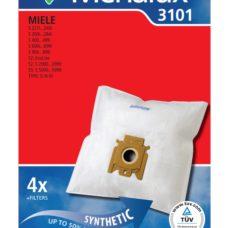 Menalux 3101 Duraflo Dust Bags - Genuine 4 Bags + 1 Filter
