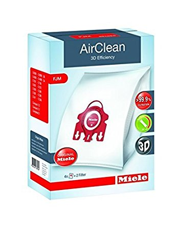 Miele FJM Vacuum Cleaner Bags - Genuine HyClean 3D Efficiency Dust Bags [CLONE]