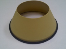 Electron EVS Plastic Cone Filter With Rubber Seal - Genuine