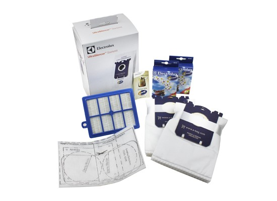 Electrolux Ultra Silencer Filter Kit With 8 x Dustbags - USK3 Genuine