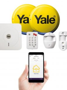 Yale Smart Phone Wireless Alarm DIY Kit - Easy Fit Smart Home Alarm & View Kit