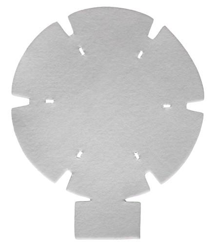 PACVAC Superpro Vacuum Premotor Filters (5Pk)