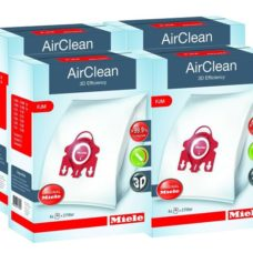 4 Boxes of Miele FJM Vacuum Cleaner Bags - Genuine HyClean 3D Efficiency Bags