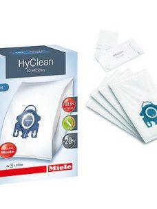 Miele S8430 Vacuum Cleaner Bags - Genuine HyClean 3D Efficiency Dust Bags
