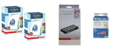 Miele C3 Vacuum Cleaner Service Kit - 8 Miele GN HyClean Bags + 1 Miele SF-AA 50 Filter + 2 Pre-motor Filters + Air Freshner