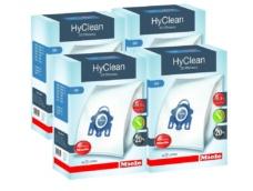4 Boxes of Miele GN Vacuum Cleaner Bags - Genuine HyClean 3D Efficiency Bags