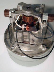 Genuine PacVac SuperPro Micron 700 Vacuum Cleaner Motor - Ametek 1100W Two Stage Flo thru