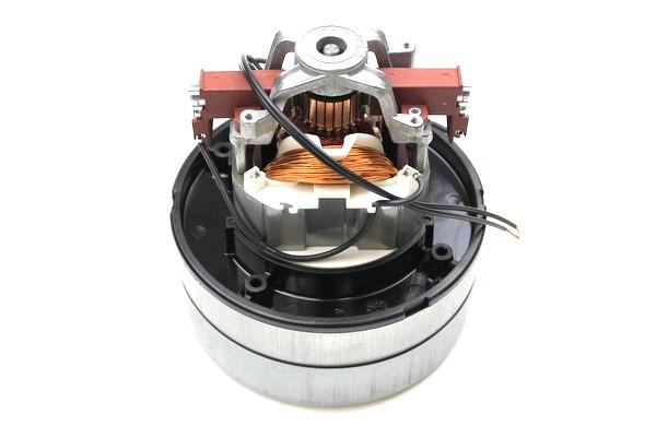 Genuine PacVac 2000 Vacuum Cleaner Motor - Ametek 1000W Two Stage Flo thru