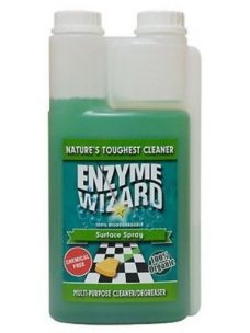 ENZYME WIZARD NO-RINSE FLOOR CLEANER 1LT, PH NEUTRAL,SOAP FREE, TILE & GROUT CLEANER
